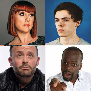 Speaker Drinks line up: Cally Beaton, Rhys James and Geoff Norcott
